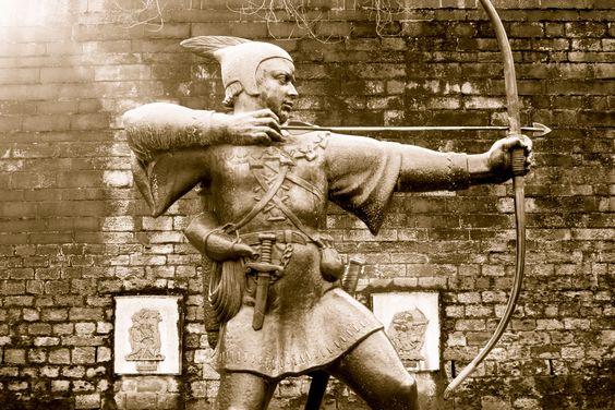 The birthplace of Robin Hood :) Nottingham, UK