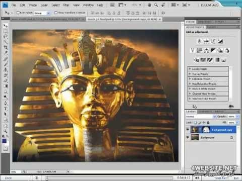 تعليم فوتوشوب - شرح الـ Mask Layers وإستخدامتها - YouTube