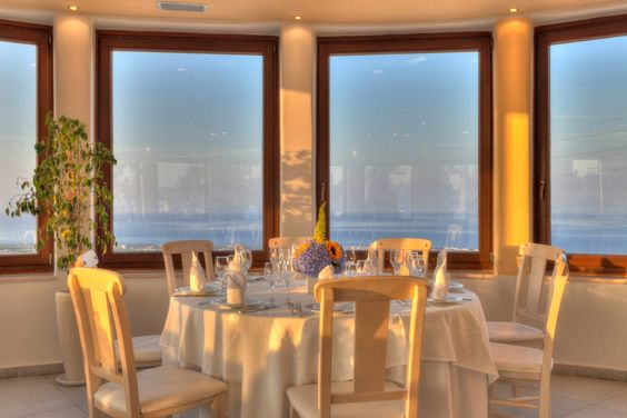 #Pyrgos Restaurant #Santorini The perfect place to organize your #wedding