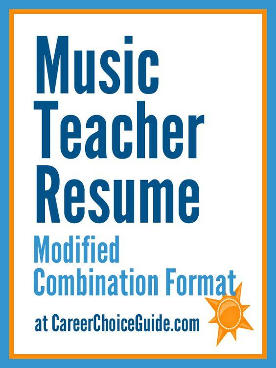 Sample Music Education Teacher Resume -    resumesdesign - music teacher resume