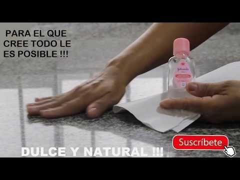 Como Darle Brillo Al Meson De Granito De Marmol Dulce Y Natural Youtube Meson De Granito Consejos De Limpieza Pisos De Granito