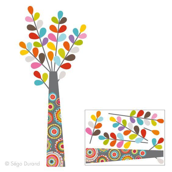 Sticker Arbre Enfant D Co S Rie Golo Deco Chambre Enfant Pinterest Design D Co Et Stickers