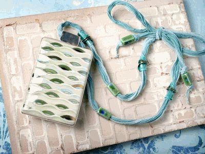 Jewelry Making Designs - Mediterranean Waves Necklace