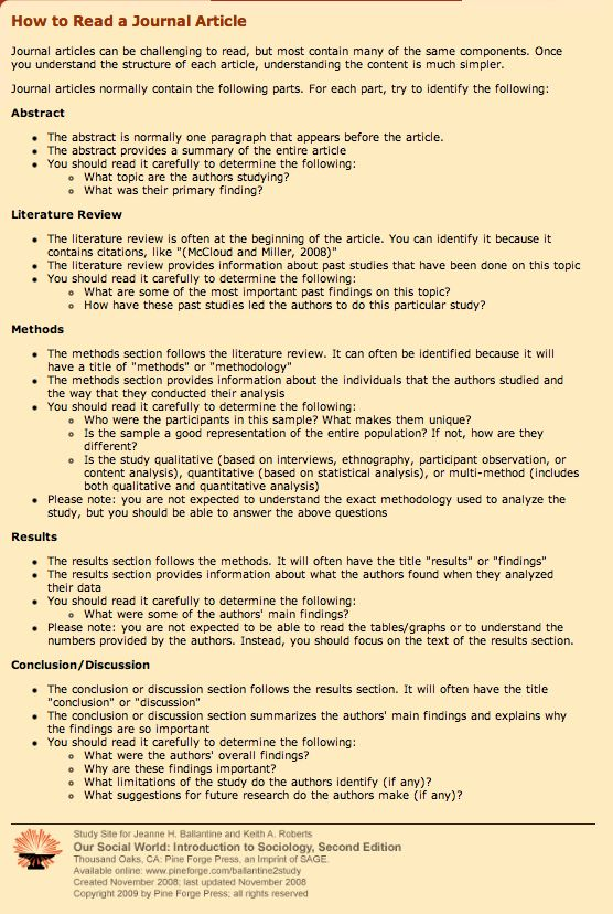 Best 25+ Academic journal articles ideas on Pinterest - writing an abstract for research paper