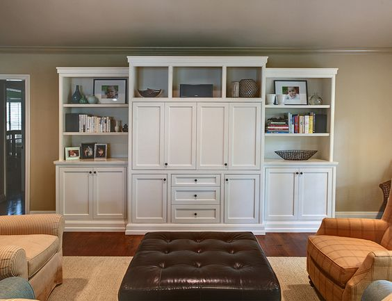 Entertainment center hide tv and entertainment on pinterest - Retractable tv cabinet living room furniture ...