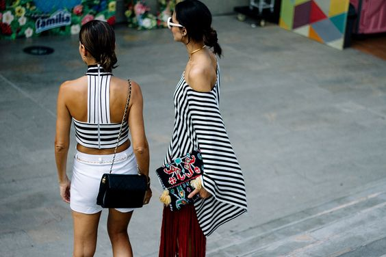 Stripe tops:
