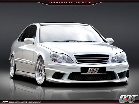 Mercedes s klasse w220 komplettvers spoiler set body kit for Mercedes benz c240 tune up