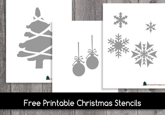 Holiday stencils free printables burge. Bjgmc-tb. Org.