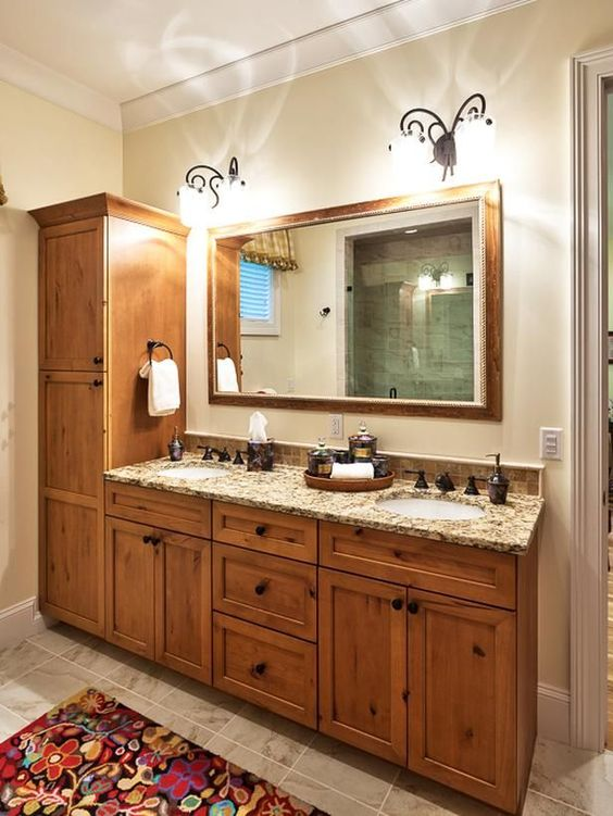 Transitional bathrooms dorothy willetts designers for Master bathroom vanity ideas