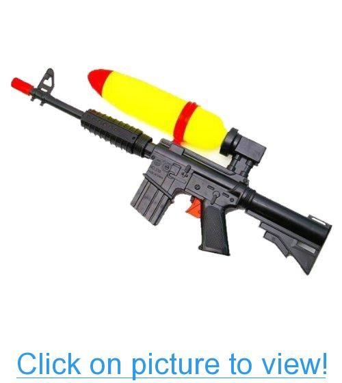 squirt guns that look real Meet The Plastic Squirt Gun Predecessor: The Liquid Pistol.