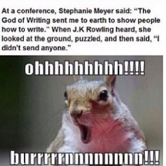 Image result for jk rowling meme