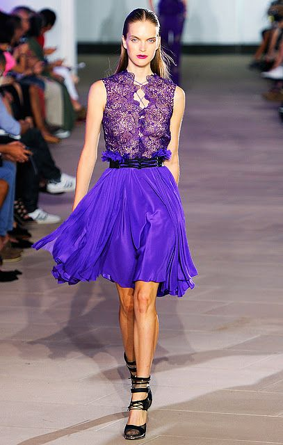 Prabal Gurung Spring Summer 2012 love the colors and textures