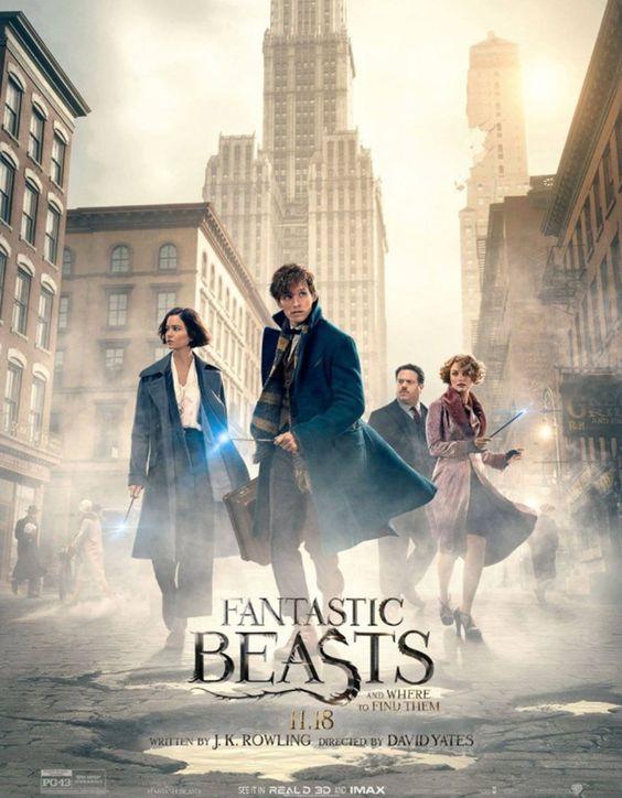 """CineNews: Novo trailer de """"Animais Fantásticos e Onde Habitam"""" revela mais do mundo mágico:"""