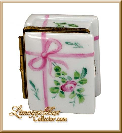 Classic Limoges Box Book with Rose Design (Retired)