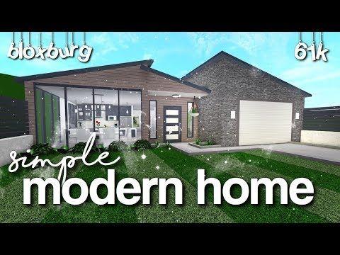 18++ 1 story modern house bloxburg info