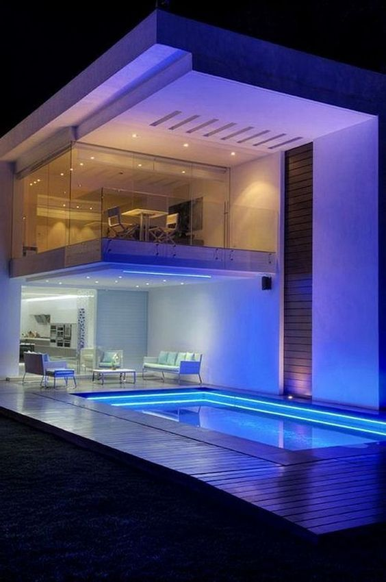Inspiring Swimming Pool Lighting Ideas To Enhance Your Pool In