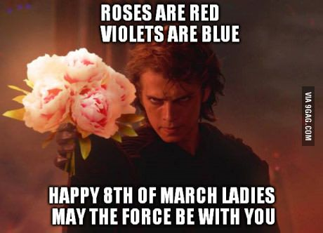 Happy International Women's Day Ladies!