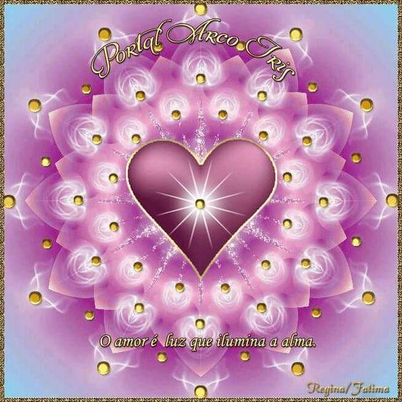 Mandala do coração-Uma visão do amor.