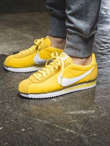 Nike Cortez Yellow