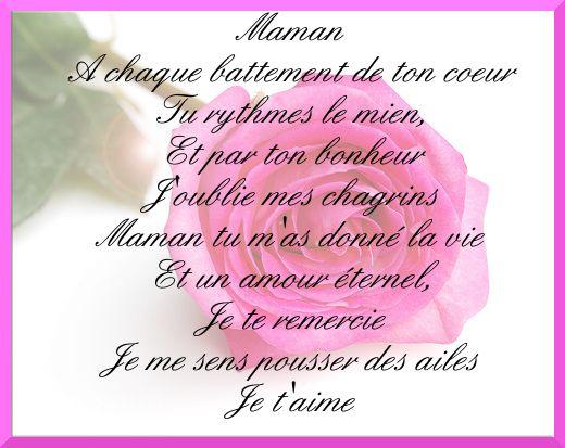 Pin About Poeme Anniversaire On Pour Mon Coeur De Maman