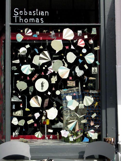 Cornucopia / Oxfork cafe window display