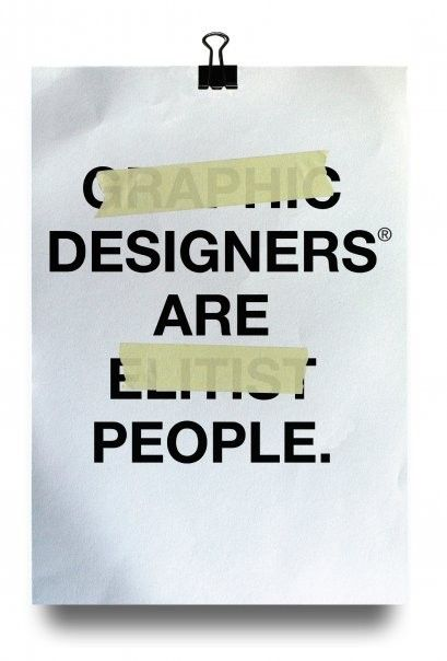 Designers are people