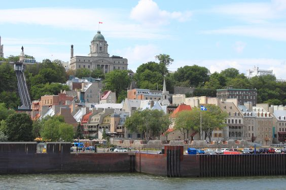 When you are in Quebec City take a ferry to Levis and enjoy spectacular view of Old Quebec form the water. Photo by Natalya Kuzmina