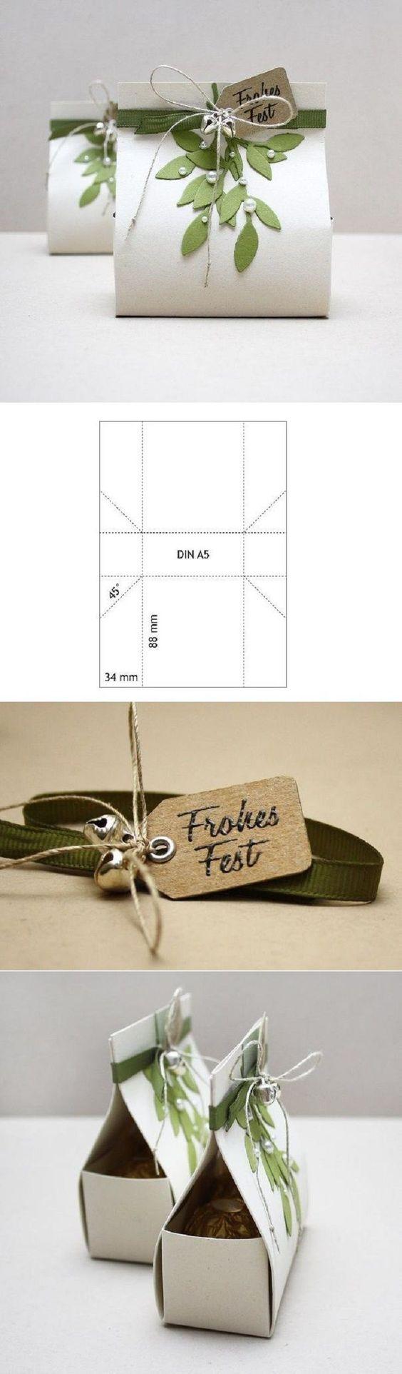 Plantilla para packaging