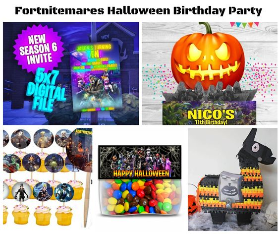 Fortnitemares Party Supplies