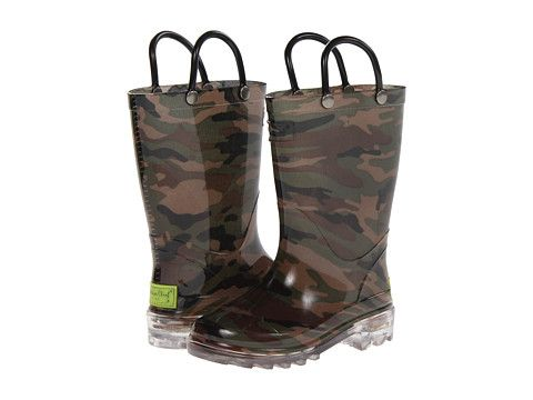 Western Chief Kids Lighted PVC Camo (Toddler/Little Kid)