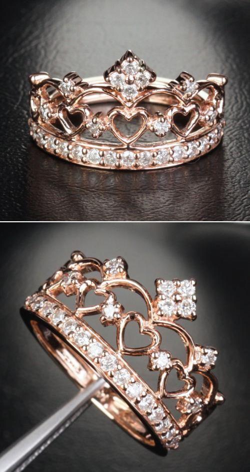 Princess Crown Ring India