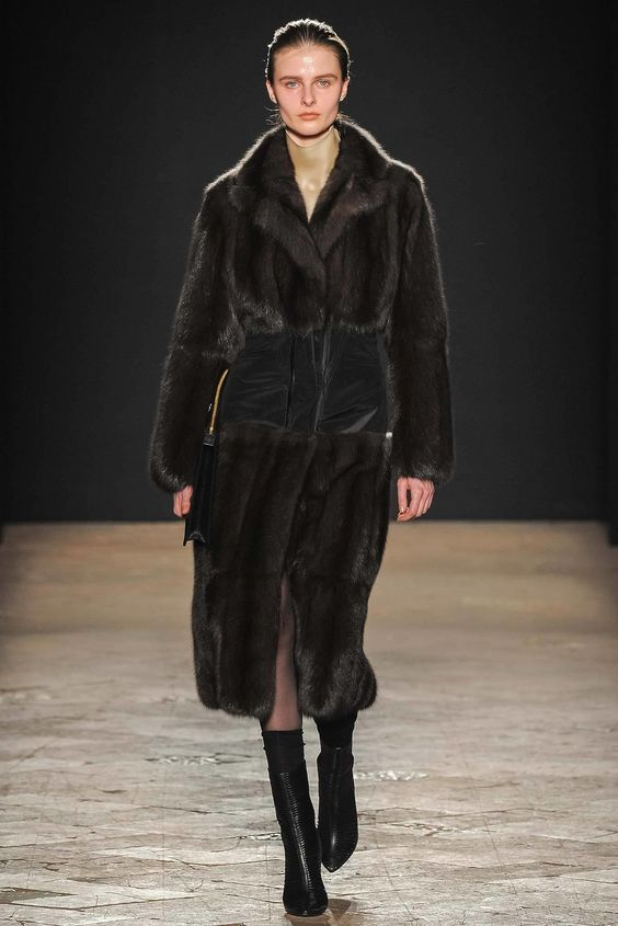 Francesco Scognamiglio Fall 2014 Ready-to-Wear Fashion Show - Vasilisa Pavlova
