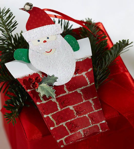 Santa Claus Paper Ornament