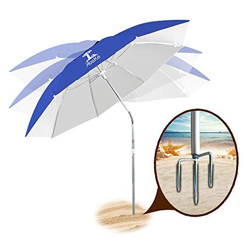 Aoske Patio Umbrella Beach Umbrella Sports Umbrella Portable Sun