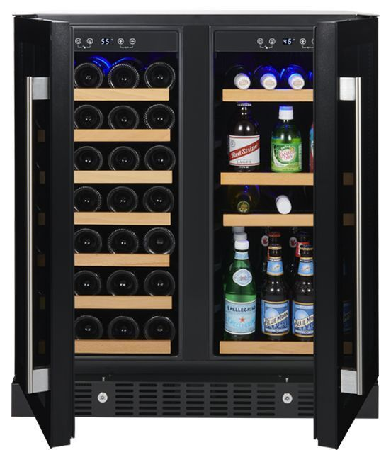 Wine Enthusiast Somm Series 2 Door Dual Zone Wine And Beverage Center In 2020 Beverage Center Wine Bars For Home