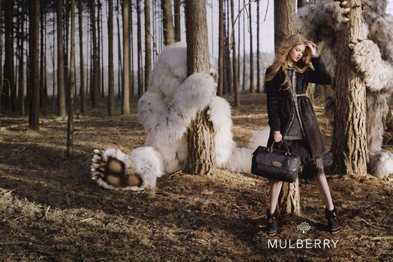 Lindsey Wixson (Tim Walker) :: Mulberry Fall 2012 -- I absolutely LOVE this campaign