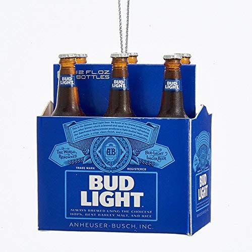 Kurt Adler Budweiser Bud Light Six Pack Miniature Christmas Ornament Read More At The Image Web Link This Is Bud Light Beer Miniature Christmas Bud Light