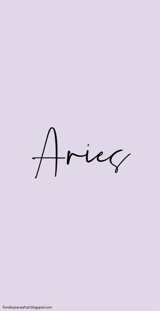 Aries Wallpaper Tumblr
