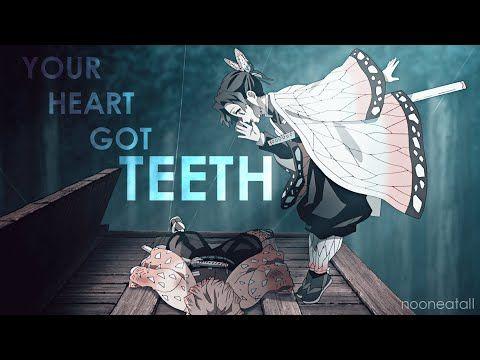 Your Heart Got Teeth Demon Slayer Shinobu Kocho Amv Youtube In 2021 Slayer Demon Alucard Mobile Legends