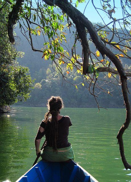 Phewa Tal, Pokhara Lake, via Flickr.