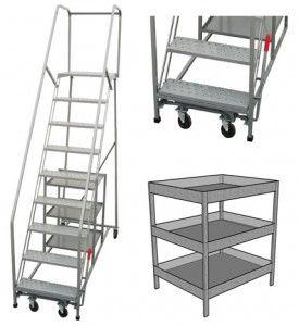 Rolling Stock Picking Ladder - http://www.titangse.com/products/rolling-stock-picking-ladder/