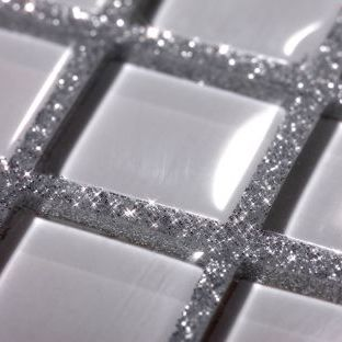 Add A Bit Of Sparkle To Your Bathroom Glitter Grout Oh