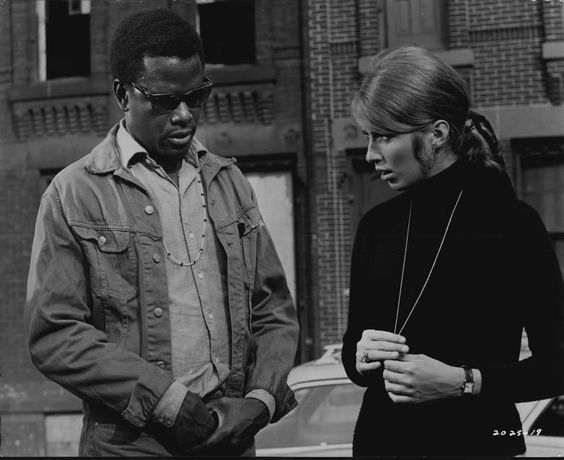 Image result for sidney poitier joanna shimkus the lost man