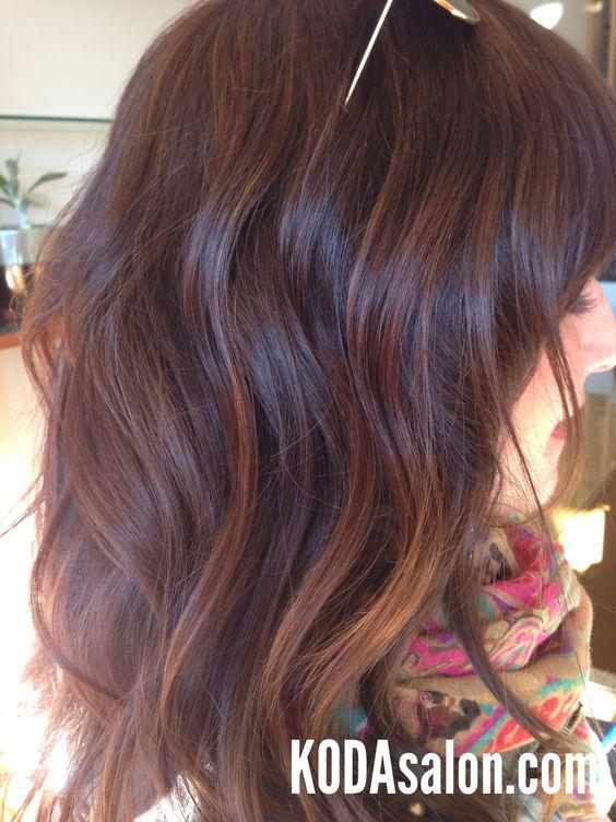 Sun-kissed brunette balayage. KODAsalon.com
