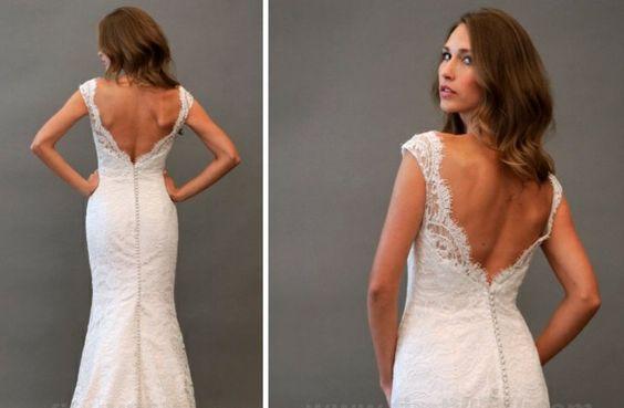 alvina valenta 2013 wedding dress statement back bridal gowns 2