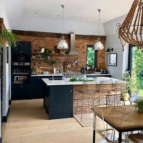 36 The Angled Kitchen Island With Sink Layout Chronicles 113 Industrial Kitchen Design Industrial Style Kitchen Kitchen Styling