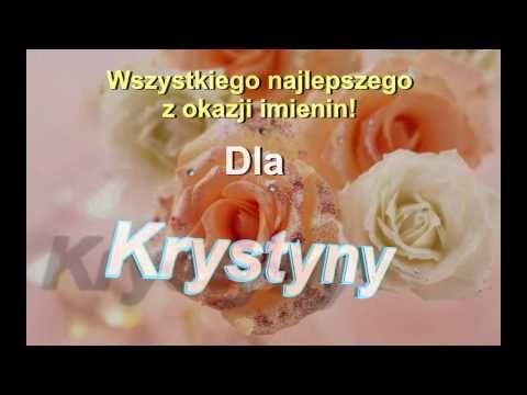 Krystyna Piosenka Prezent Na Imieniny Dla Krystyny