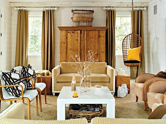 lee kleinhelter cottage living via The Estate of Things