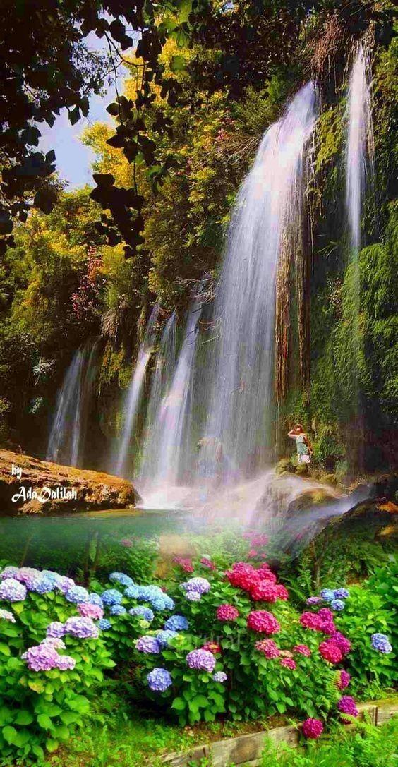 Pin By Pearl Aranda On Waterfalls Beautiful Places Nature Beautiful Nature Beautiful Landscape Wallpaper