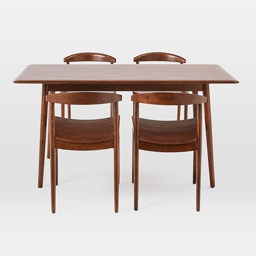 Lena Mid Century Table Chairs Dining Set Mid Century Dining Set Mid Century Dining Dining Table Setting